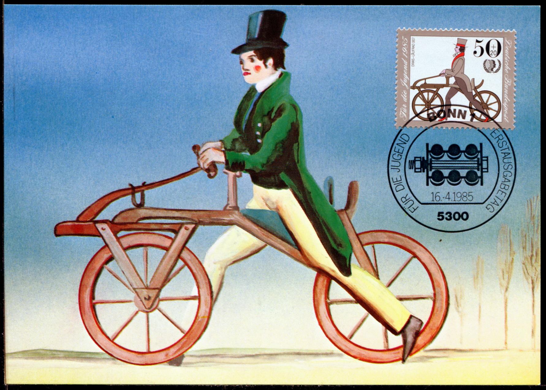 自行车转向结构图